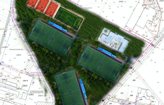 Powstanie nowa baza treningowa Stali Mielec. Z nowego kompleksu sportowego skorzystają również mieszkańcy Gminy Tuszów Narodowy.